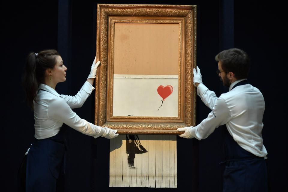 Banksy-ed at Sotheby's: How the Anonymous Street Artist Fooled the Art World