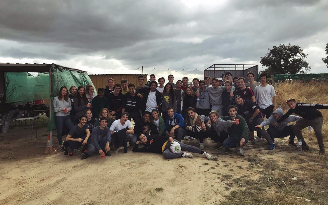 Athletics Outdoor Club Kicks Off With a Paintball Game