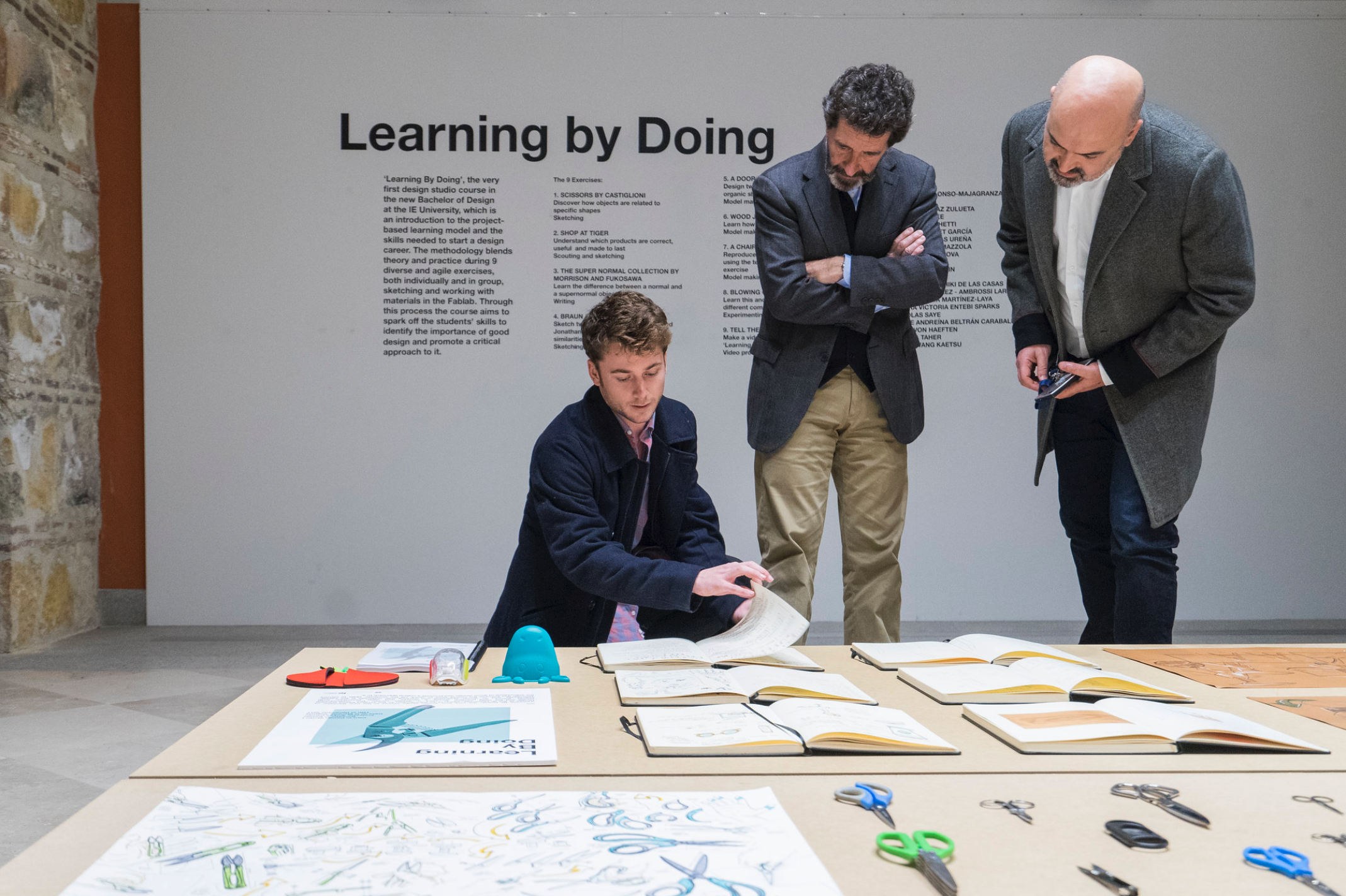 Learning by Doing: An Exhibition by Bachelor of Design