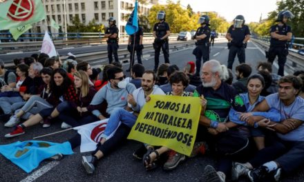 A Conversation with Extinction Rebellion – Greta Thunberg, Spanish Police and the Environment