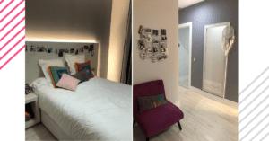Room in El Palacio de La Floresta.