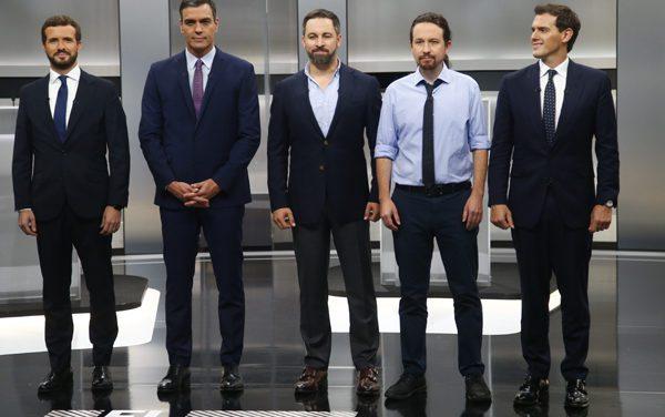 5 candidatos a 5 días del 10N
