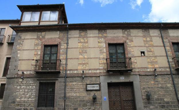 Segovia's new students residence: Palacio de La Floresta