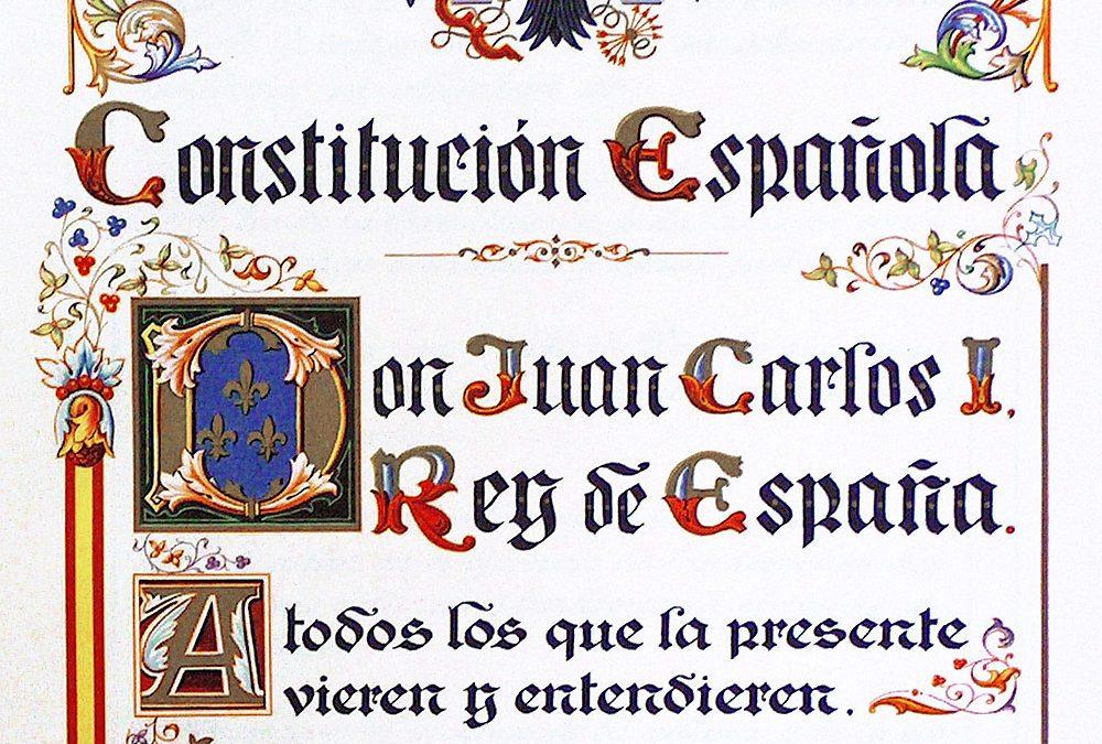 Constatando la Constitución