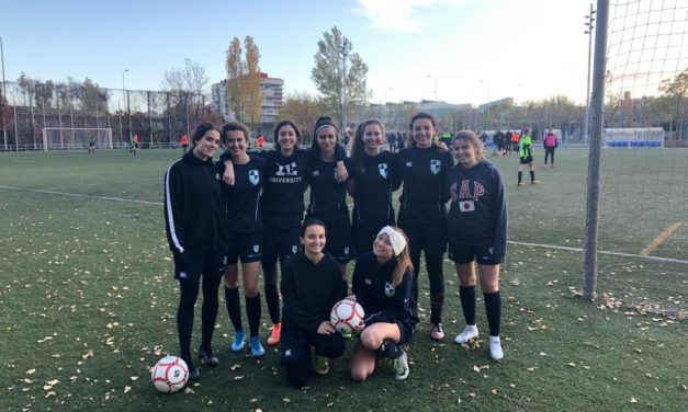 IE Women's Football team: Eighth Game of the Season