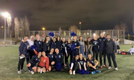 IE Women's Football: First Win