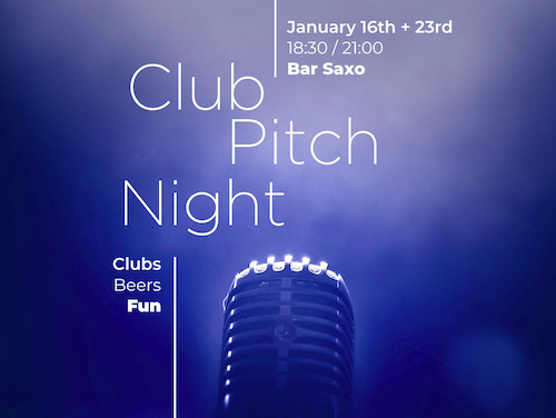The 2nd Club Pitch Night – A Review