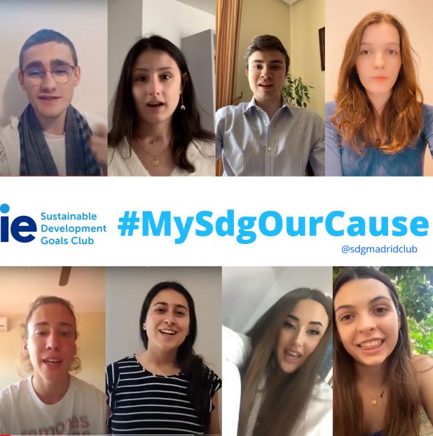 #MySDGOurCause | IE SDG Club Madrid