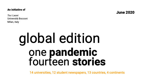 Global Edition – One Pandemic Fourteen Stories